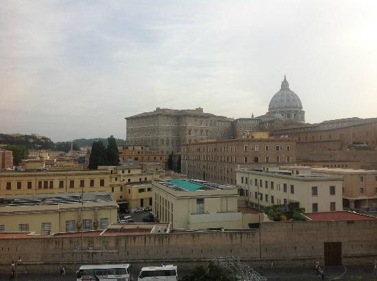 A View of Rome: View of the Vatican from our window