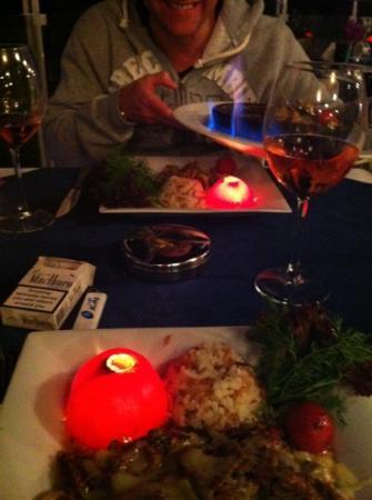 Manzara Restaurant: awful gimmick !!!