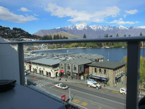 Crowne Plaza Queenstown: view from room
