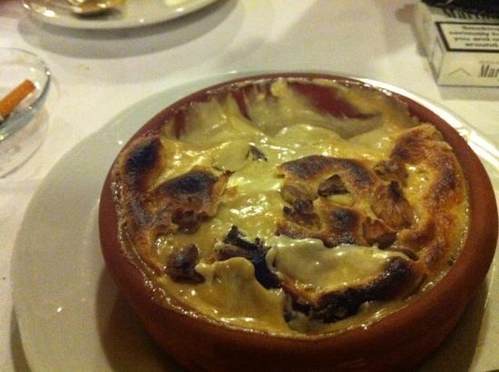 Hayta Meyhane Restaurant: dessert very filling