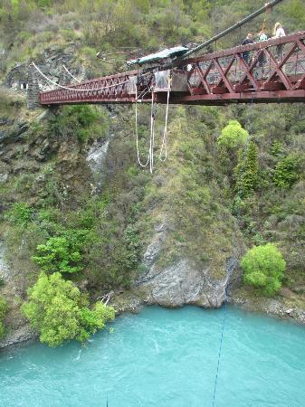 AJ Hackett Bungy New Zealand: Before the Jump