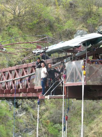 AJ Hackett Bungy New Zealand: Before the Jump