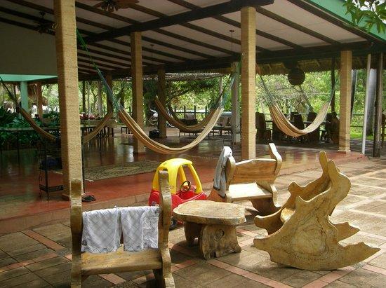 Atlakamani Surfing Resort:                   Hammocks