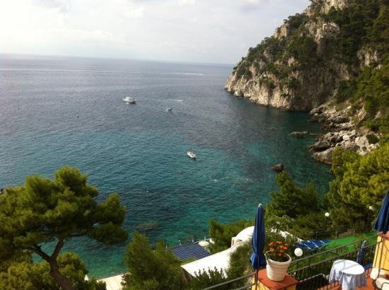 Hotel Weber Ambassador Capri: foto vista camera