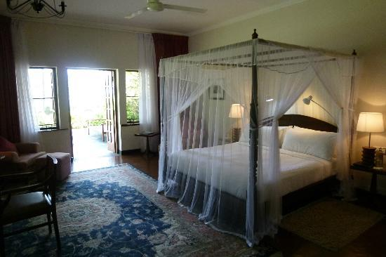 Ceylon Tea Trails - Relais & Chateaux: prachtige kamer met terras