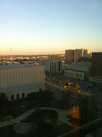 Hyatt Regency Tulsa: View from room