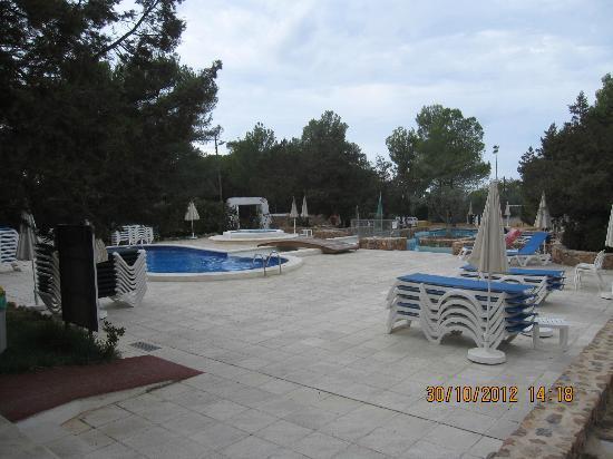Fiesta Hotel Cala Gracio: 2 Pools auf dem Gelände des Cala Gracio Hotels