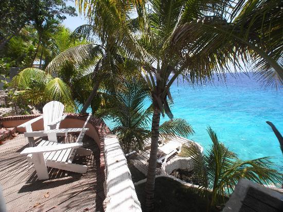 Sun Reef Village: Sitzplatz - Kaminecke -