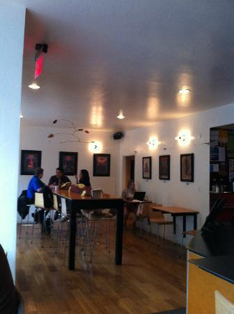 Contraband Coffee Bar: Inside of Contraband
