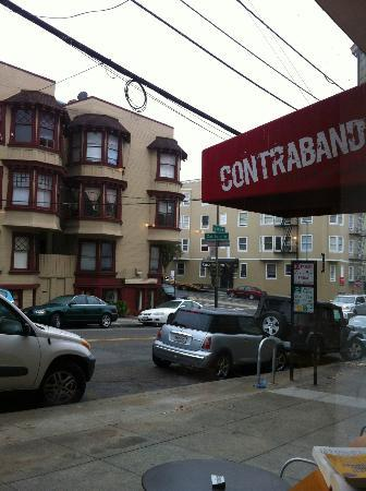 Photo of Cafe Contraband Coffee Bar at 1415 Larkin St, San Francisco, CA 94109, United States