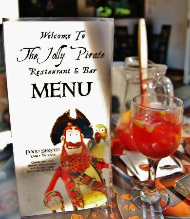 The Jolly Pirate: Great food available including childs menu
