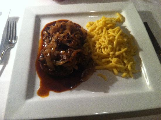 Restaurant Zum Schwan : Нац блюдо немецкое