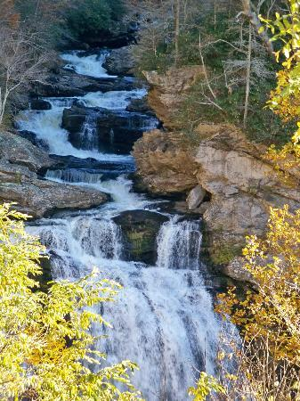 Cullasaja Falls , Highland NC