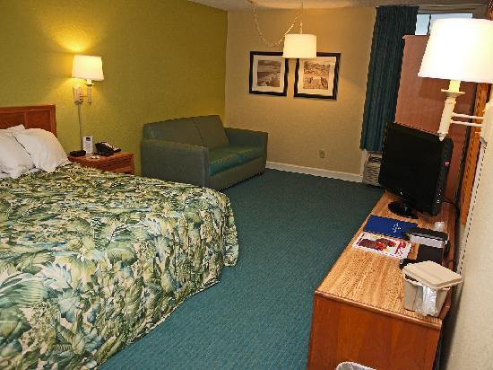 Outer Banks Inn: King Room with Sofa Bed