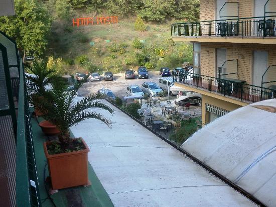 Hotel Posta: Vista dalla terrazza della camera