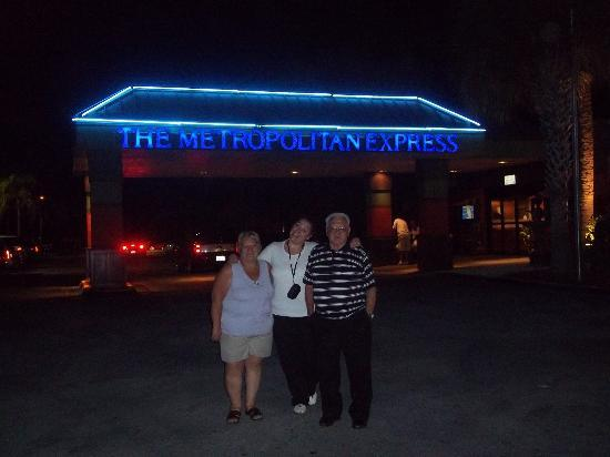 Floridian Express Hotel: Acceso a la recepción