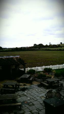 The Anchor Inn: View from the balcony