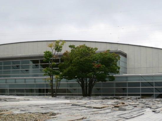 Koriyama City Museum of Arts: 美術館外観