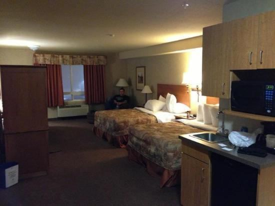 Ramada Airdrie Hotel and Suites: The room
