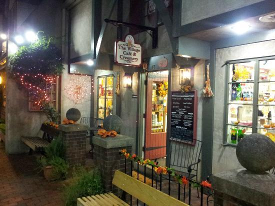 "The Village Cafe & Creamery: Nighttime ""Autumn"""