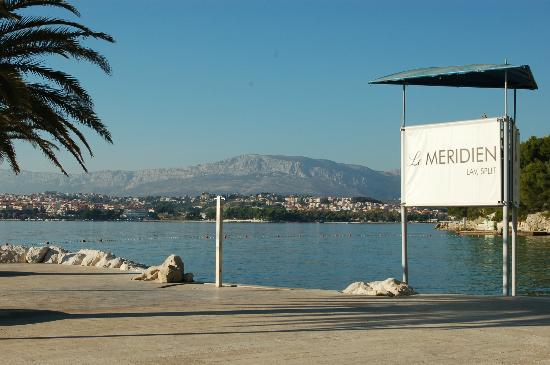 Le Meridien Lav Split: Looking toward Split