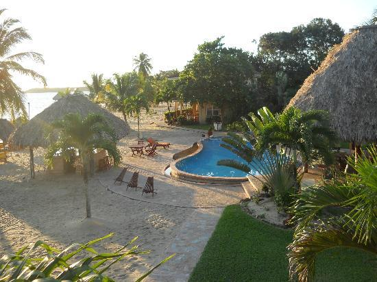 Belizean Dreams: pool/bar area