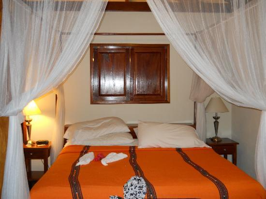 Belizean Dreams Resort: One Bedroom Villa (upstairs bedroom)