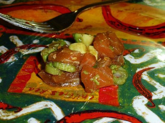 La Tasca de Mi Abuelo : Fresh salmon in marinade