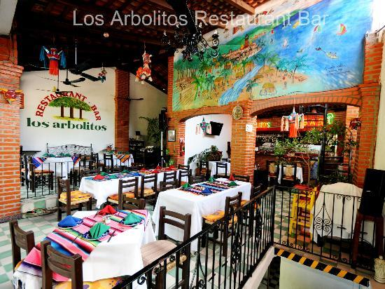 Los Arbolitos Restaurant : The terrace!