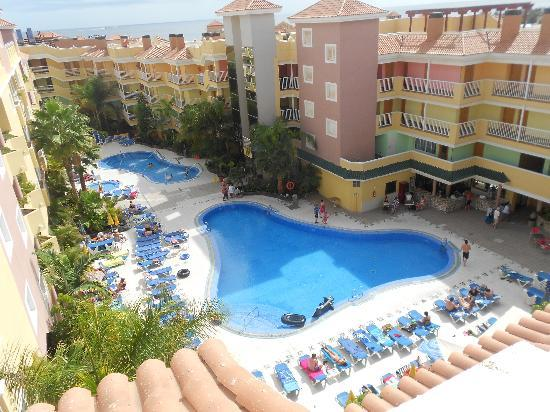 Hotel Costa Caleta: view from roof terrace