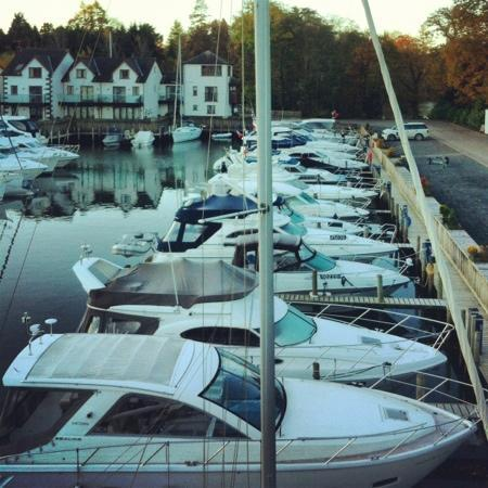 Windermere Marina Village: view from the bedroom