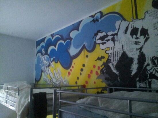 Backpackers Dusseldorf: camera da letto