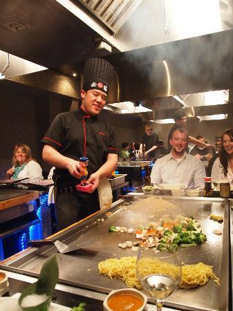 Sakura Japanese Steak House : dinner