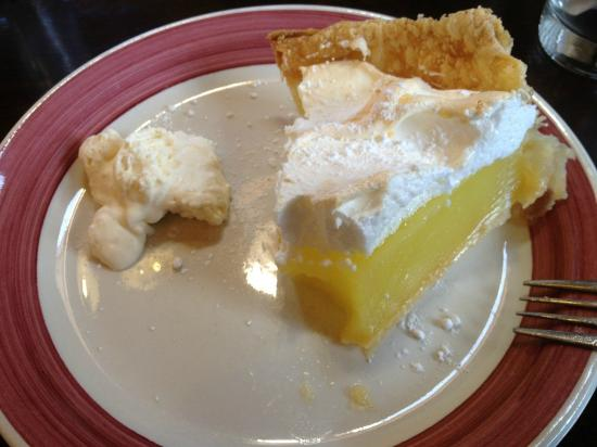 Lemon meringue at the Forge