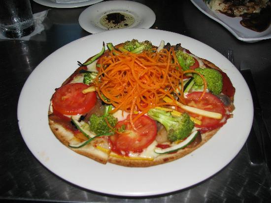 di Parma Trattoria : vegetarian pizza
