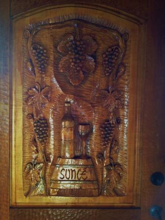 Sunce Winery : Inside the tasting room