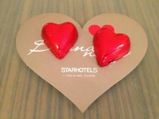 Starhotels Anderson: Chocolates
