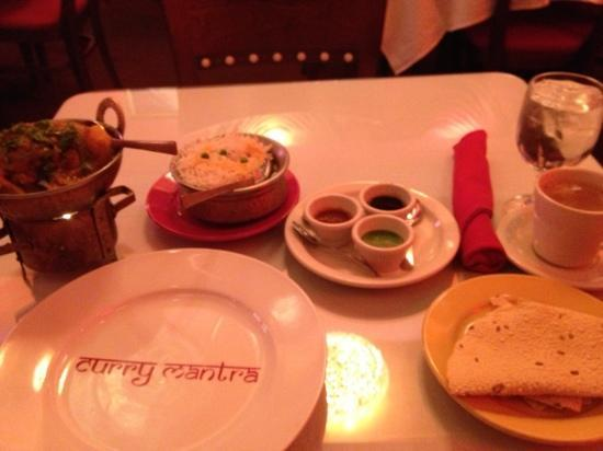 Curry Mantra: delicious diner...