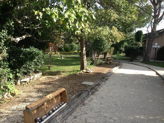 Auberge de Cassagne & Spa: un jardin agréable
