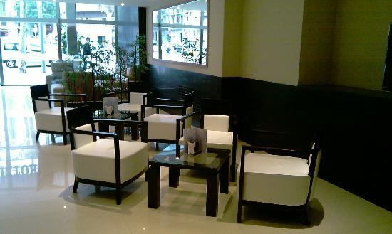 HCC Lugano: Lobby. 
