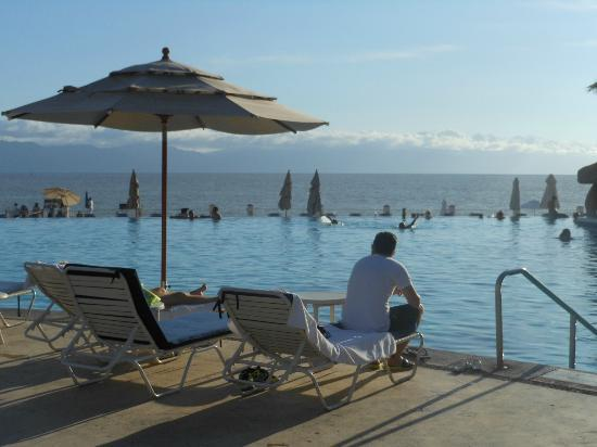 Marriott Puerto Vallarta Resort & Spa: Isn't this a precious shot? Looks better at dusk