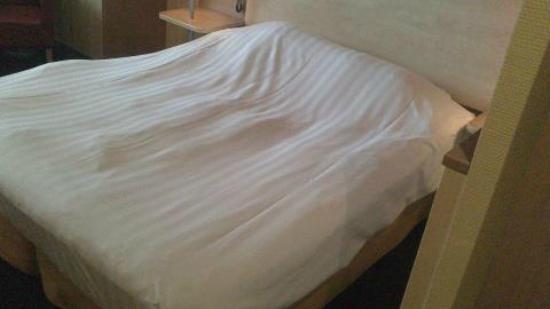Mercure Hotel Tilburg Centrum: Lumpy Bed Cover