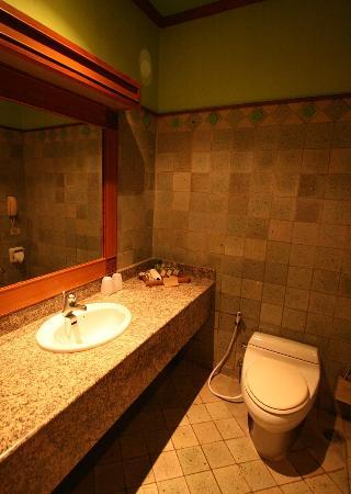 Suanthip Vana Resort : clean bath