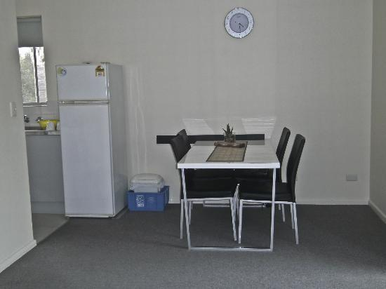 Beachpark Apartments Coffs Harbour: Dining area