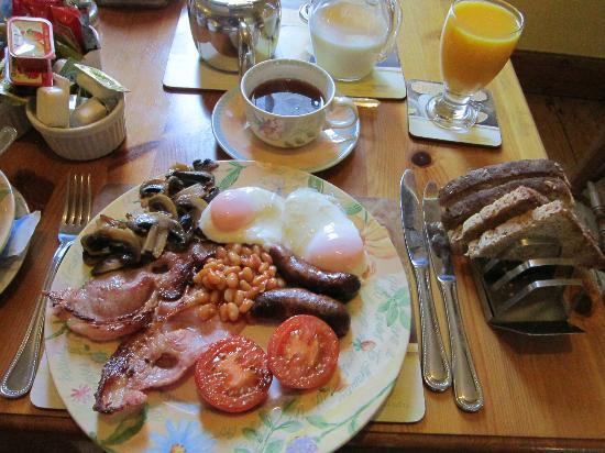 Victoria Bed and Breakfast: Full English Breakfast