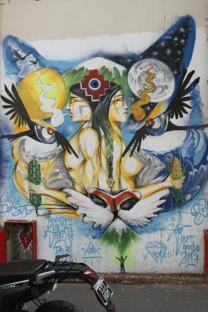 BA Street Art Tours: BA Street art