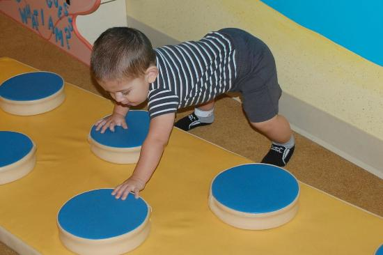 The Children's Museum of the Treasure Coast: Playing in the baby area
