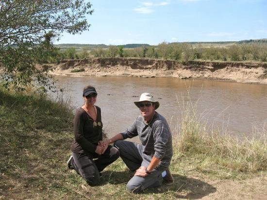 Rekero Camp, Asilia Africa : Lisa and Anton