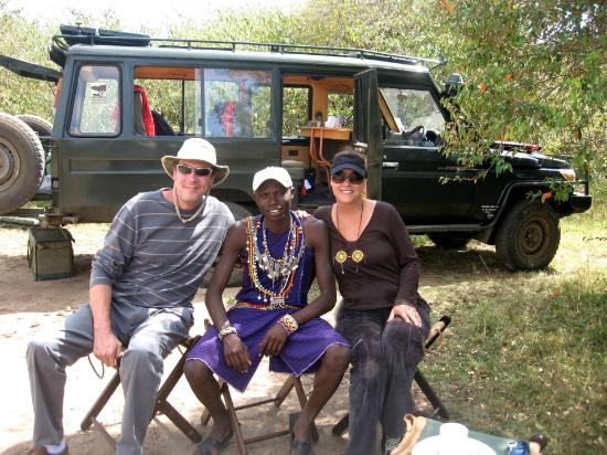 Rekero Camp, Asilia Africa: Anton, Sammy and Lisa