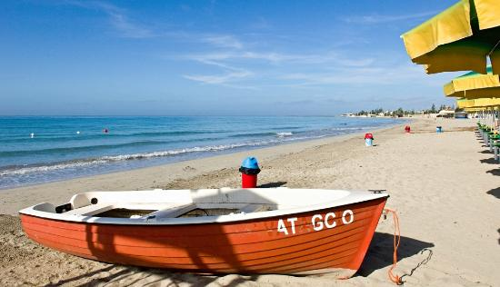 Mazara del Vallo, Olaszország: la sabbia argentea